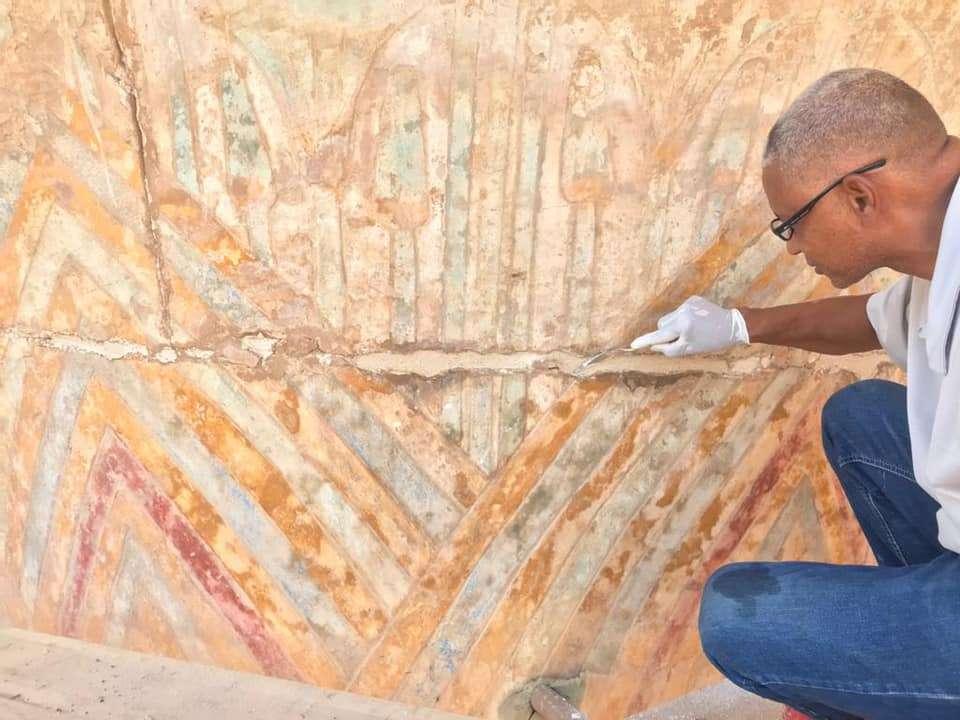 ترميم معبد الكرنك استعدادا لافتتاح طريق الكباش في احتفالية ضخمة