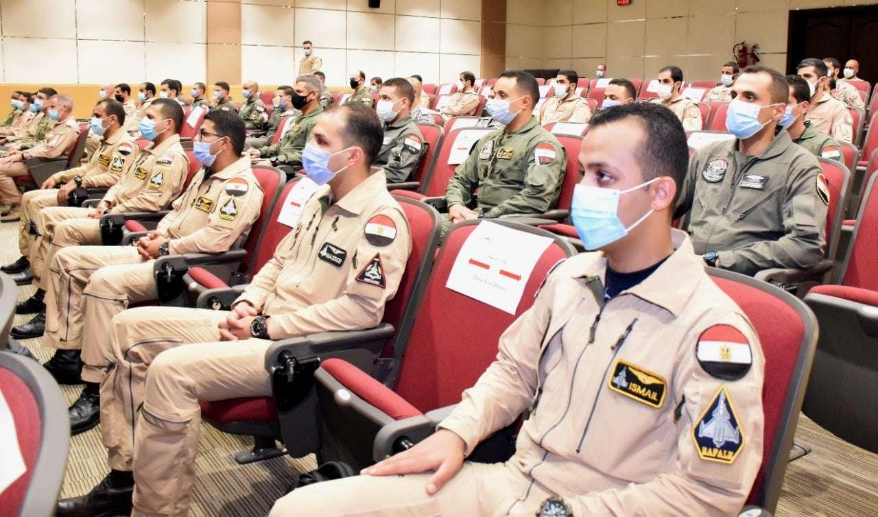 بالصور.. تدريب جوي مشترك بين مصر والإمارات «زايد-3»