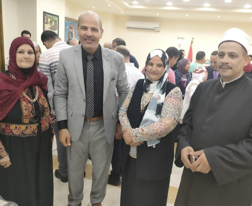 اتفرج.. محافظ شمال سيناء يشهد على عقد قران أول عروس من دار الأيتام
