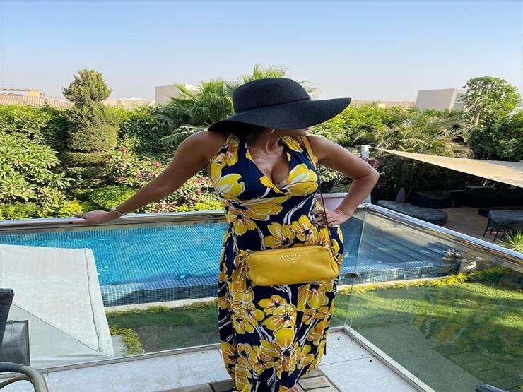 الكبير وصل - رانيا يوسف على حمام السباحة اخر دلع ركنت مي عمر : اتفرج