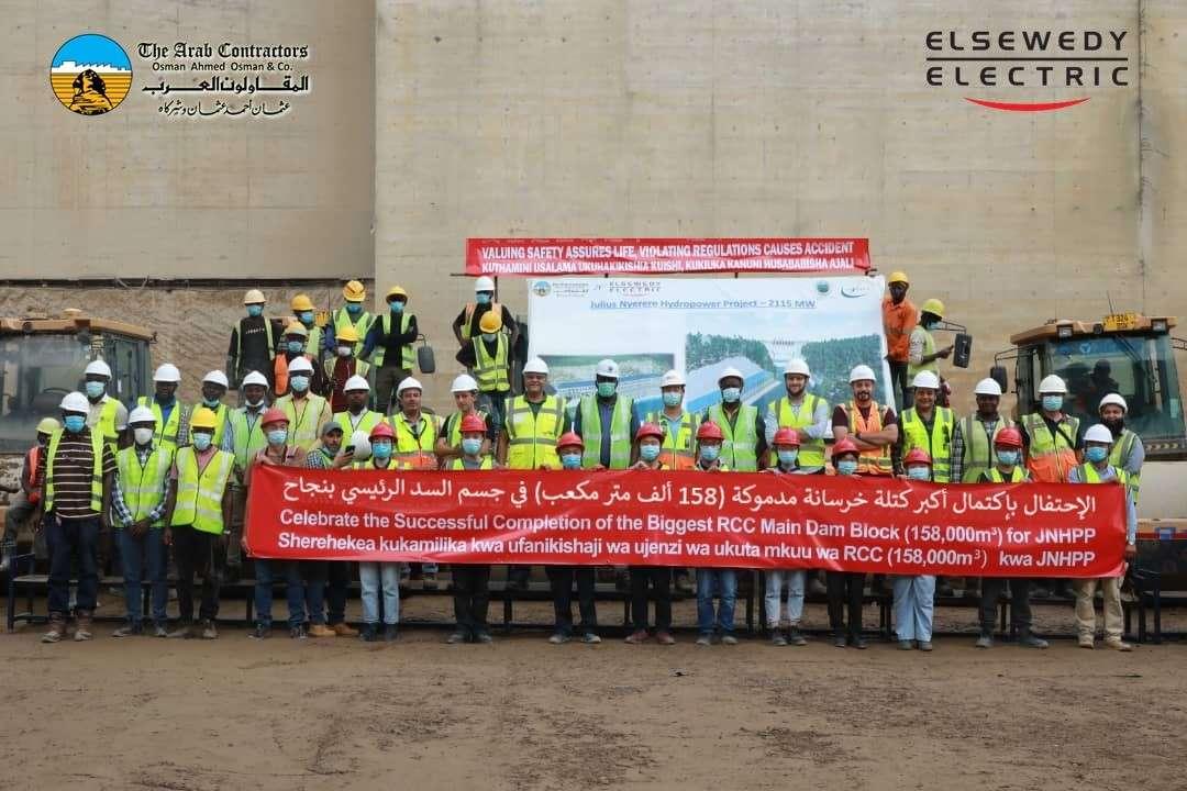 التحالف المصري ينهي أعمال محطة توليد وسد يوليوس في تنزانيا