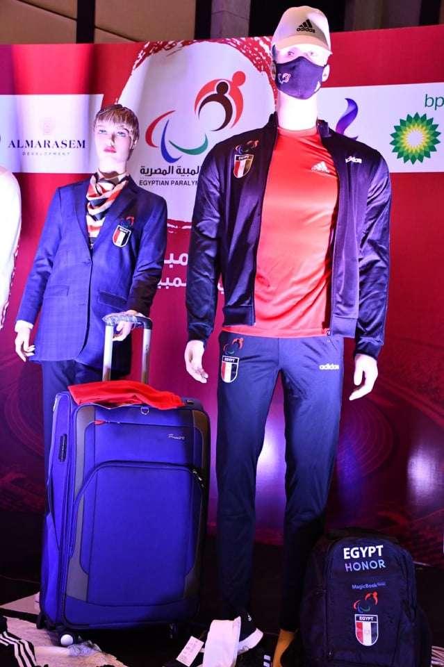 شاهد - الزي الرسمي للبعثة المصرية البارالمبية قبل السفر لطوكيو