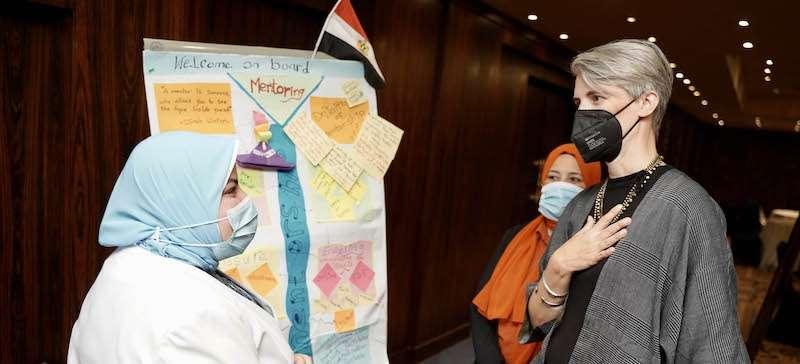 السفارة الأمريكية تطلق الدفعة السادسة من برنامج المرشد الأكاديمي