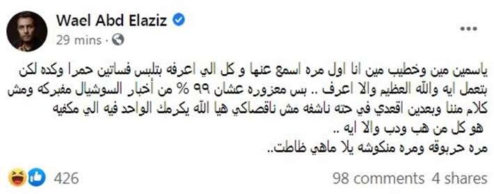 الخناقة ولعت .. أخو ياسمين عبد العزيز دمر جبهة ياسمين الخطيب - إتفرج