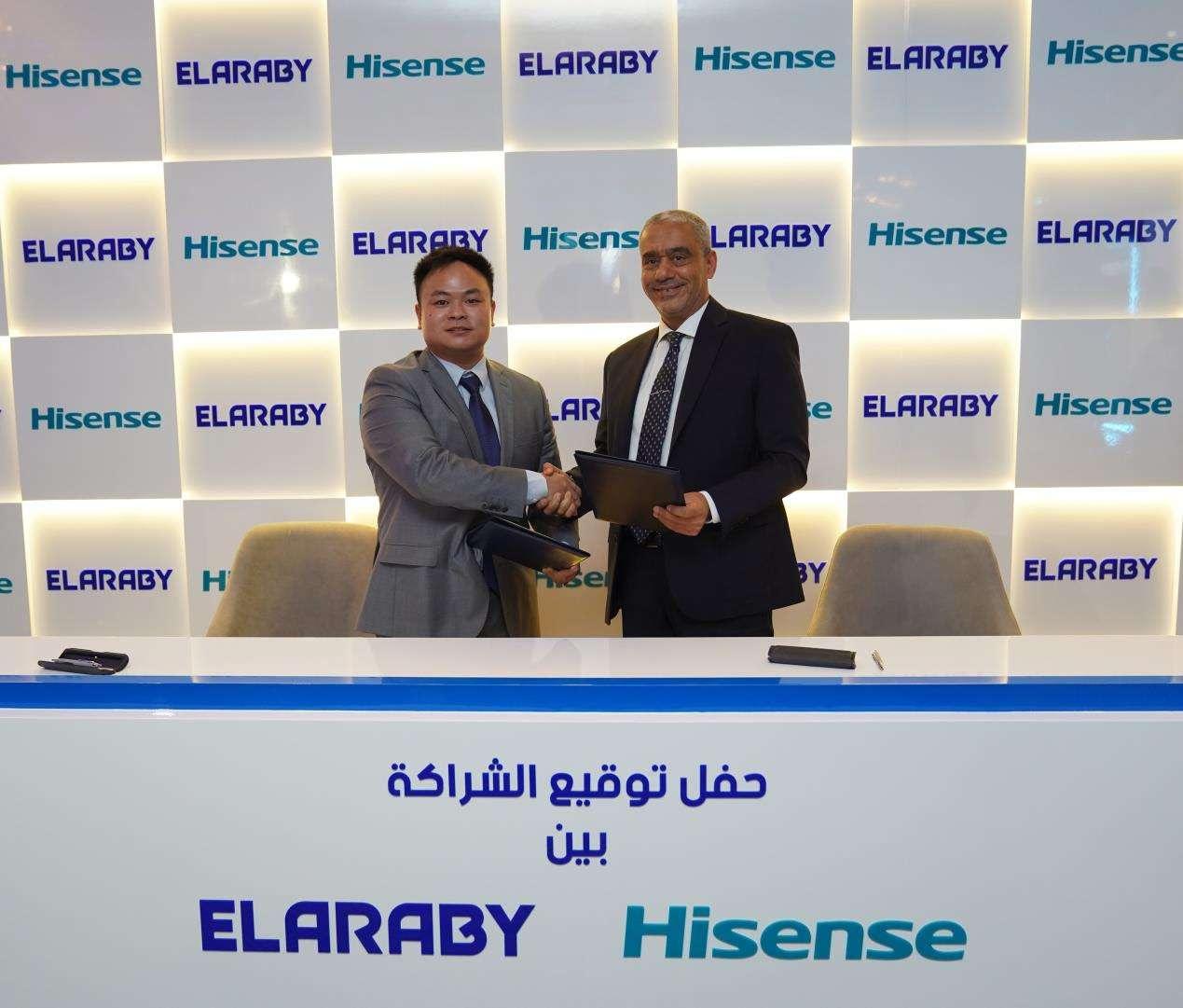 هايسنس توقع اتفاقية مع العربي لطرح منتجاتها بالسوق المصري