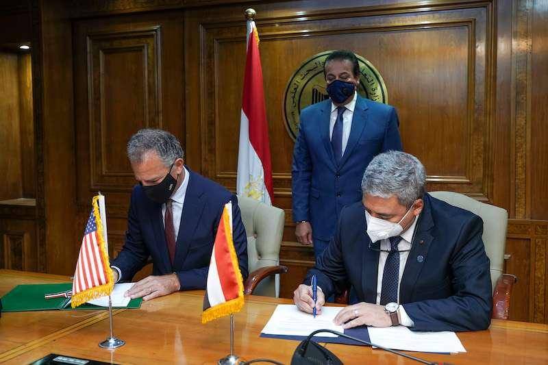الولايات المتحدة ومصر تمددان اتفاقية التعاون العلمي والتكنولوجي