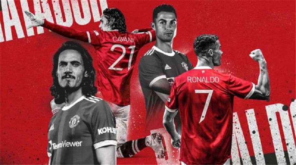 رسمياً.. كريستيانو يرتدي رقم 7 مع مانشستر يونايتد