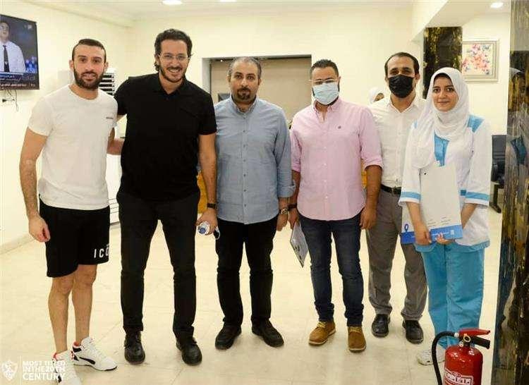 عمر كمال يخضع للكشف الطبي في الزمالك
