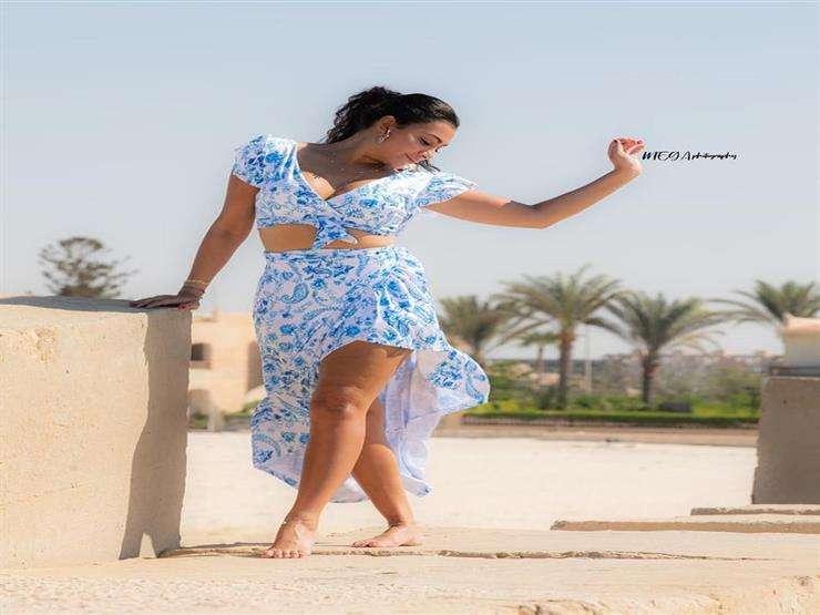 صاروخ يدوخ - مريهان حسين بتجرب الفستان الجديد : اتفرج
