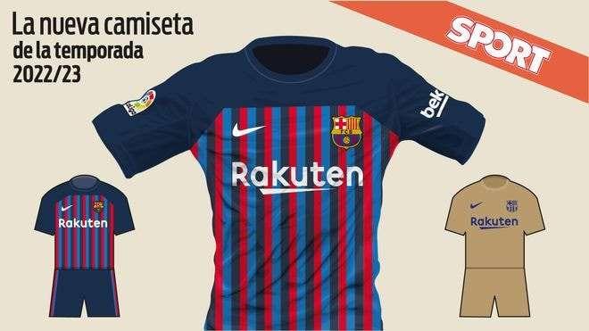 شاهد.. لابورتا يعتمد قميص برشلونة في الموسم المقبل
