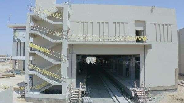 اتفرج على صور تركيب سكة القطار الكهربائي : عظيمة يامصر