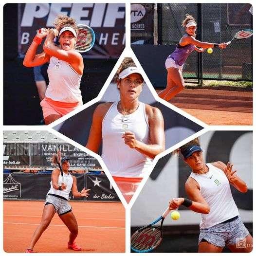 ميار الشريف بعد بطولة ألمانيا: طموحي العالمية في التنس