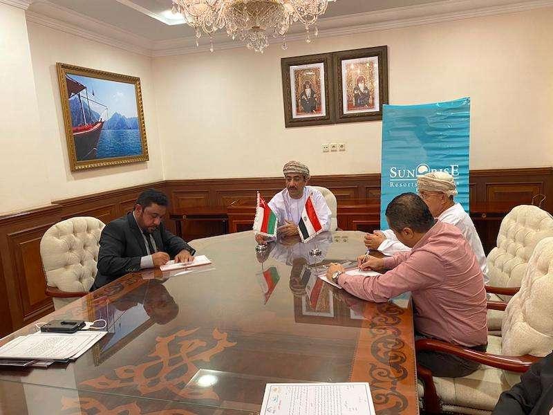 توقيع اتفاقيه شراكة عمانية مصرية برعايه سفارة سلطنة عمان بالقاهرة