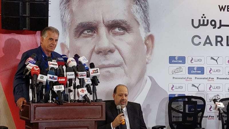 كيروش : اسمحوا لى أن أعتبر نفسى واحدا من المصريين