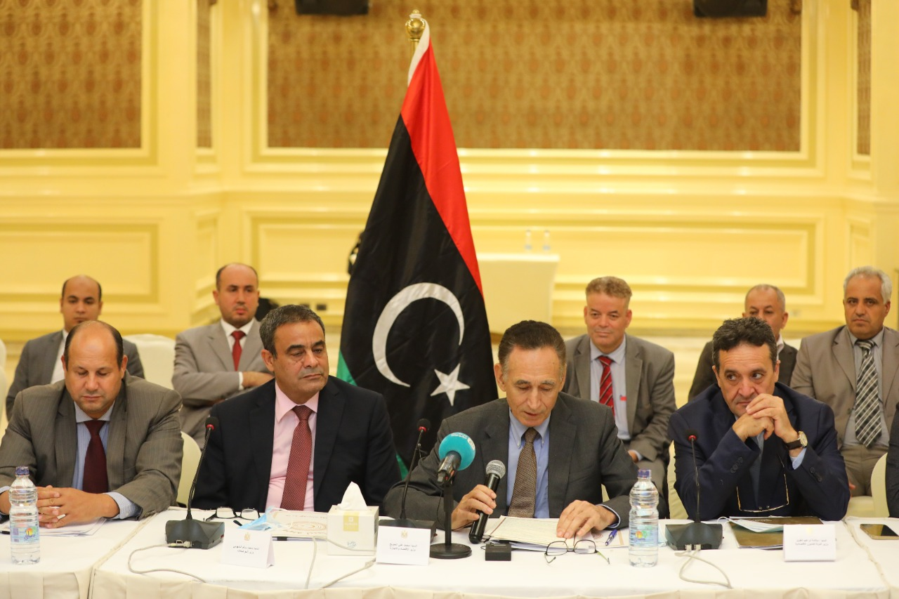 مصر وليبيا يوقعان مذكرات فى مجال الزراعة والنقل والصناعة