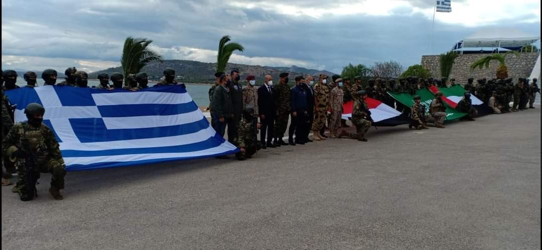 """القوات الخاصة تشارك فى التدريب المشترك الرباعى """"هرقل 21"""" باليونان"""