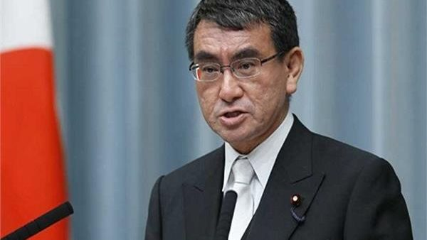 كونو تارو مرشح لرئاسة وزراء اليابان : قضي شهر العسل في مصر