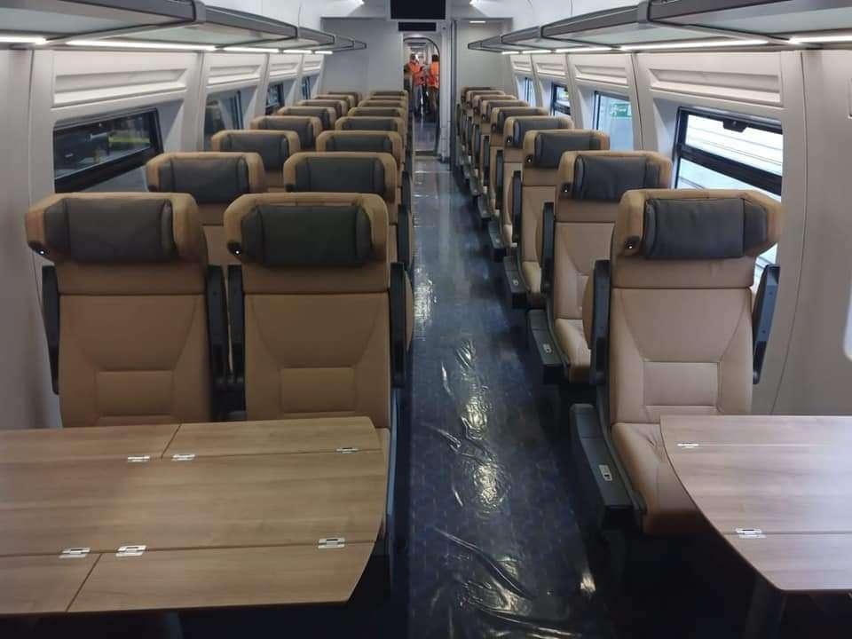 مبروك عليكم يامصريين قطار تالجو الأسباني: للأسكندرية في ساعة ونصف
