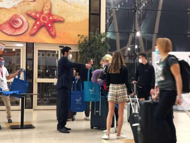 مطار شرم الشيخ بيفرح : استقبل ثلاث رحلات من ألمانيا