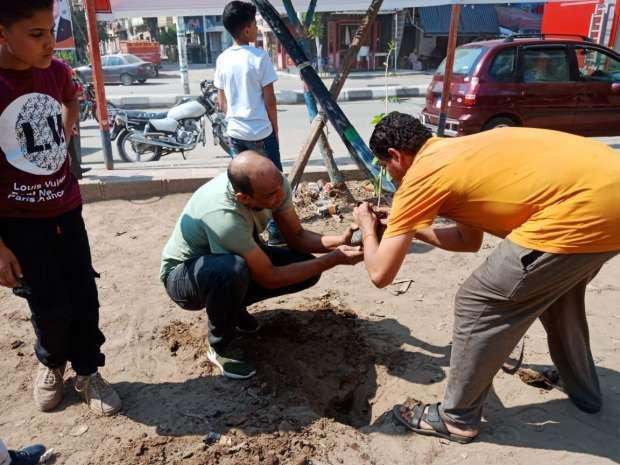 المنصورة علمت على بقية المدن: زرعت أشجاراً مثمرة في الشوارع للفقراء
