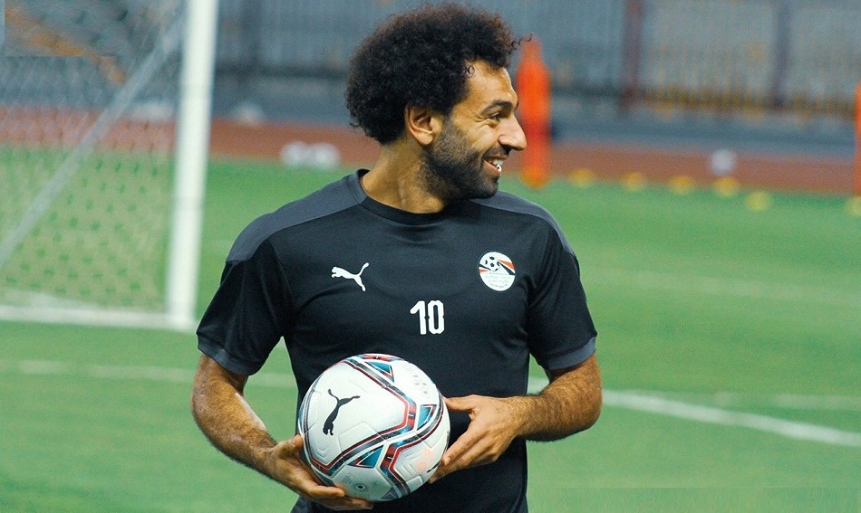 بالصور.. محمد صلاح يُشارك في مران المنتخب