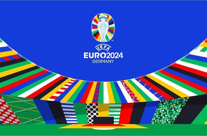 رسمياً.. يويفا يكشف النقاب عن شعار يورو 2024