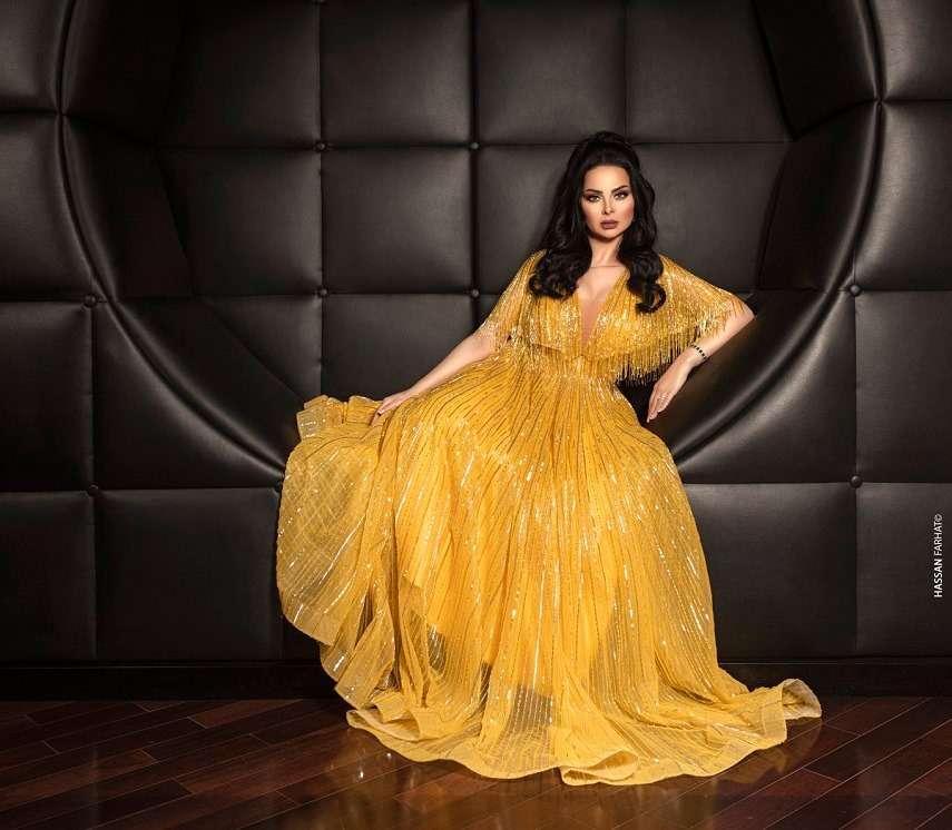 ديانا كرزون تتألق على إنستجرام بالفستان الأصفر