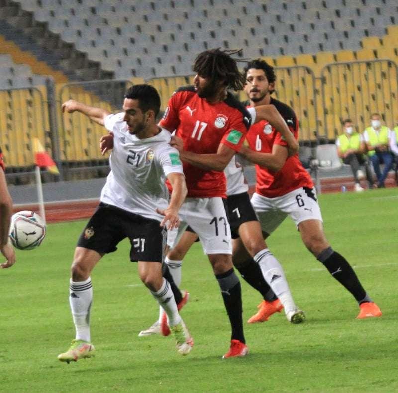 تعادل سلبي بين مصر وليبيا في شوط أول سريع