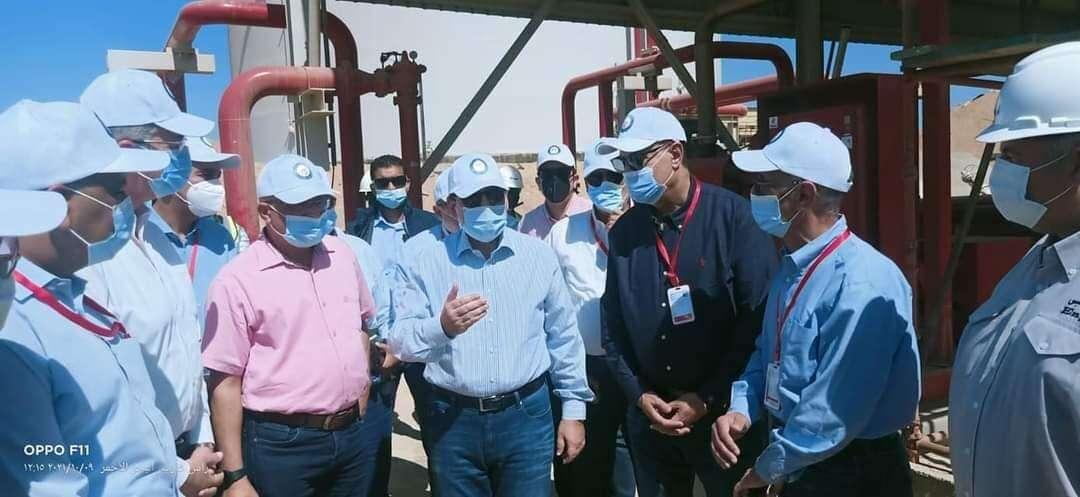 مبروك يامصريين: البدء في إنتاج الغاز بالصحراء الغربية
