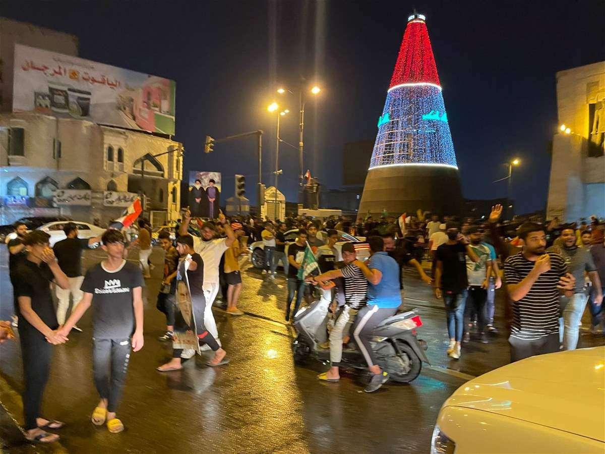 احتفالات بغداد