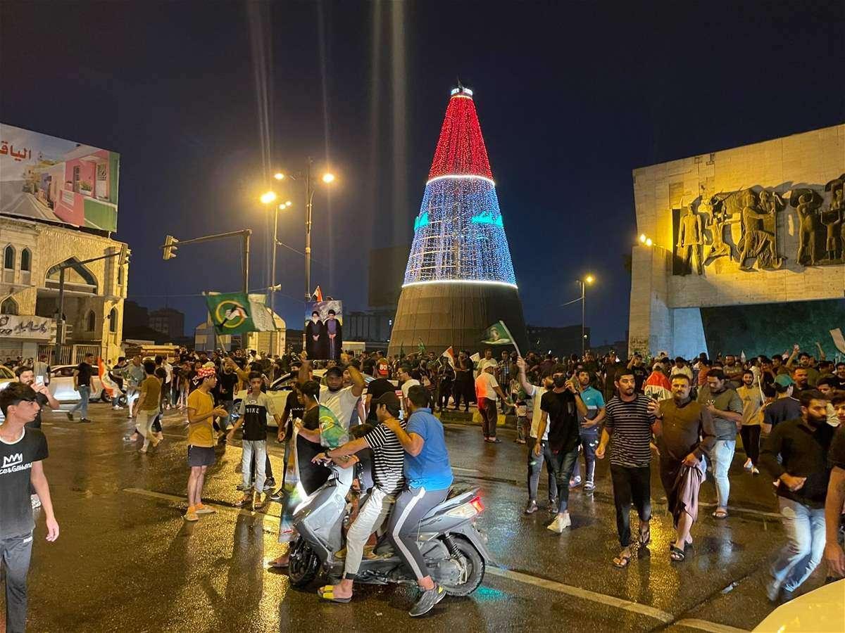 احتفالات العراقيين