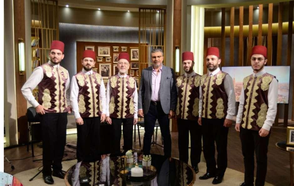 السبت فرقة المرعشلي السورية في احتفالية المولد النبوي مع عمرو الليثي